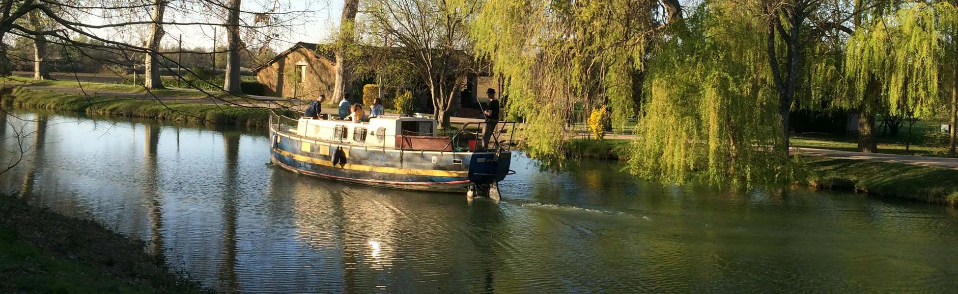 Balade sur le canal du Midi Toulouse